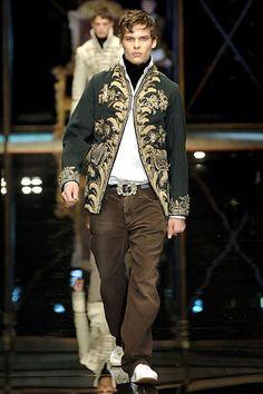 Dolce & Gabbana Fall 2006 Menswear