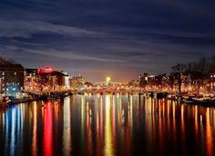 #Amsterdam City of Lights. Tijdmakers, Light Kite (2015) © Frank Krassing
