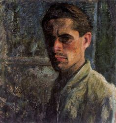 Self-Portrait, 1910  Mario Sironi