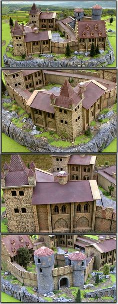 Big castle on rock!