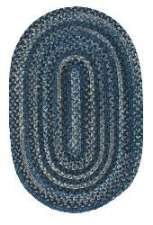 Colonial Mills · Oak Harbour · Oak Harbour · Laguna Made from wool, these beautiful rug Braided Wool Rug, Braided Area Rugs, Cambridge, Colonial, Shabby Chic, Braids, Blue And White, Creative