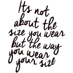 ... And wear it well!  Motivate one another to create the perfect recipe for a beautiful day! Happy Wednesday #CURVY followers, LOVE the skin you're in. #CelebrateMySize #KeepThePlus #PlusIsEqual #ReinventingYourCurves