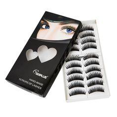 Thick Black False Eyelashes (10 pack), 54% discount @ PatPat Mom Baby Shopping App