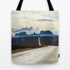 """Wanderlust"" Tote Bag"