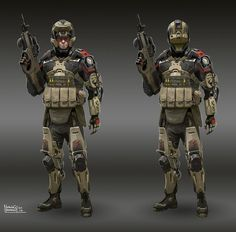 Image result for cyberpunk space suit