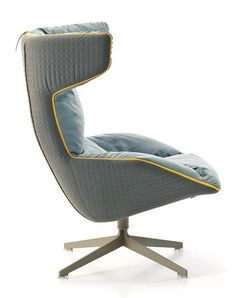 Moroso Take a Line For a Walk fauteuil - Quilt