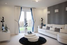 Gorgeous design work.    Serenity and tranquility.    From Taylor Wimpey's Redmond Brae development in Kelty, Scotland.
