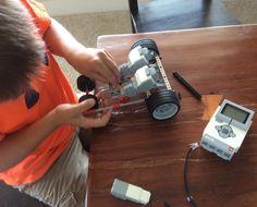 Always working on a car of some sort #lego #robotics #LOVEHIM http://ift.tt/1NlLhvg