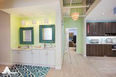Bahamas-inspired dental office. Dental Office Design by Arminco Inc.