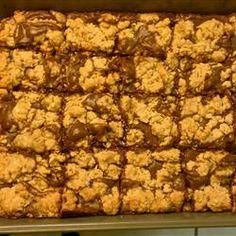 Fudge-Nut Oatmeal Bars Allrecipes.com This recipe is moister than Mom's recipe.