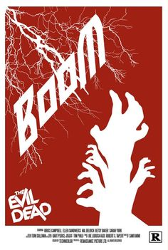 The Evil Dead - movie poster