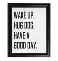 Hug your dog makes any bad day into a good one again ...........click here to find out more http://googydog.com