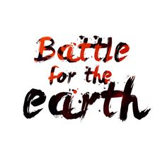 Battle for the earth remains logo by Víctor Cárdenas My Works, Battle, Arabic Calligraphy, Earth, Logos, Logo, Arabic Calligraphy Art, Mother Goddess, World