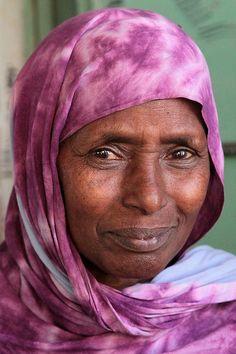 Somali woman in Hargeysa.