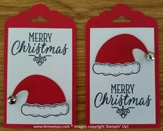 Dena Lenneman, Stampin' Up! Demonstrator: Jolly Friends Hang Your Stocking Tag