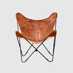 Palermo Chair – Black & Cognac