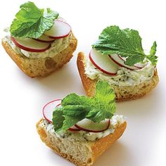 Nori Radish Toasts | Learn how to make Nori Radish Toasts. MyRecipes has 70,000+ tested recipes and videos to help you be a better cook