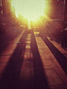 Starburst Phonebox Shadow by Liminal Londoner, via Flickr