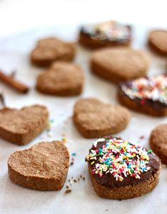 Recept voor gezonde havermout speculaaskoekjes, lekker voor bij het ontbijt, als gezond tussendoortje of tijdens een gezellig (Sinterklaas) avondje.
