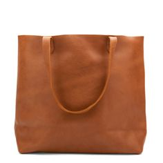 Leather Tote Caramel