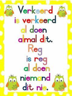 Preschool Social Studies, Preschool Learning, Classroom Activities, Teaching, Education Quotes For Teachers, Kids Education, Teacher Resources, Afrikaans Language, School Murals