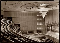 JD Rockefeller Archives - The Bowery Boys: New York City History The Bowery Boys, Theatrical Scenery, Radio City Music Hall, Vintage New York, Concert Hall, Modern Buildings, Art Deco Design, New York City, Architecture Design