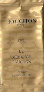 Thé Le Mélange Fauchon Agrumes Lavande et Vanille