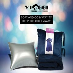 This 4 in 1 Blankets are very light in weight, soft and durable which can be used in all seasons. This blanket can be easily carried while travelling. Give comfort your best shot. www.viaggitravelworld.com