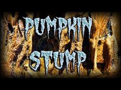 The pumpkin stump is a scary way for the trick or treaters to get their candy. They have to reach into the gooey maw of a rotten pumpkin to get the goodies. Halloween Yard Displays, Diy Halloween Decorations, Cemetery, Vines, Scary, Things To Do, Pumpkin, Neon Signs, Make It Yourself
