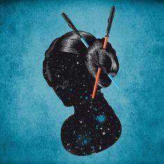Geisha of the stars by Kreadid