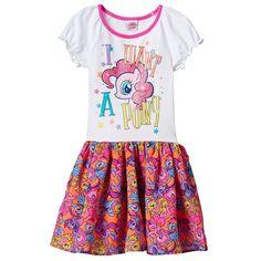 """Girls 4-6x My Little Pony """"I Want a Pony"""" Dress, Girl's, Size:"""