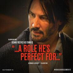 uproxx: Keanu Reeves Debuted His Trailer For 'A. Knock Movie, Keanu Reeves Pictures, Keanu Reeves Movies, Feeling Rejected, Keanu Charles Reeves, Normal Person, Christian Movies, Aidan Turner, Beautiful Person