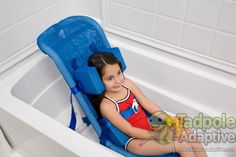 Columbia Small Deluxe™ Tilt-in-Space PVC Bath Chair. Under $350!