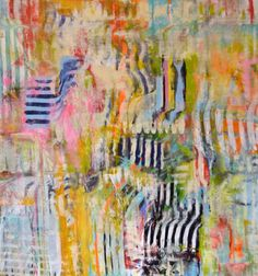 """Saatchi Online Artist Mary Robertson; Painting, """"Long Division"""" #art"""