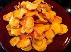 Mrs. Michaels Cooks!: Sweet Potato Chips