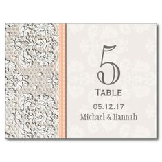 ==> reviews          Peach Vintage Lace Wedding Table Number Card Post Cards           Peach Vintage Lace Wedding Table Number Card Post Cards online after you search a lot for where to buyReview          Peach Vintage Lace Wedding Table Number Card Post Cards lowest price Fast Shipping and...Cleck See More >>> http://www.zazzle.com/peach_vintage_lace_wedding_table_number_card_postcard-239623627239230533?rf=238627982471231924&zbar=1&tc=terrest