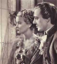 "Alida Valli and Vittorio De Sica in ""Manon Lescaut"" (1939)"