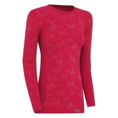 Kari Traa Women's Butterfly Longsleeve II Base Layer Rose, $54.95
