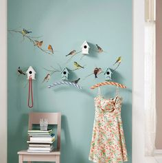 Komar Birds Wall Decals