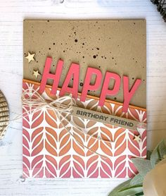 Create a variety of different card backgrounds with ink blending. This article explains how to use ink with a stencil to create different card backgrounds.