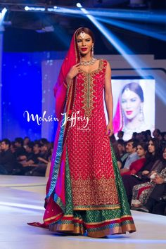 Zaheer Abbas Collection, Pakistan Bridal Couture Week 2013