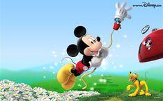 Fondo de pantalla de dibujos animados de Disney Mickey (4) #19