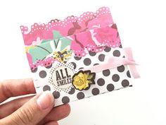 Scrap i Pebre: Cómo hacer un sobre para tarjetas regalo - TUTORIAL Scrapbook