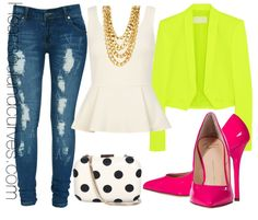 Mix & Match Neons… If I was your stylist