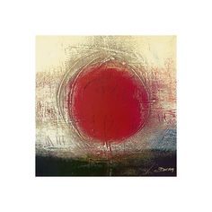 Sans Titre II Art Print by Carole Bécam - Easyart.com ($16) ❤ liked on Polyvore featuring backgrounds, art, abstracts, abstractos and circles