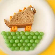 Cute lunch/snack idea for kids