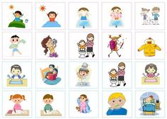 The idea is to create, with you children, their morning and evening schedules. This one will help them in their organization! Daily Routine Schedule, Toddler Schedule, Daycare Forms, Evening Routine, Kindergarten Lesson Plans, Free To Use Images, Autistic Children, Toddler Activities, Kids And Parenting