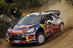 Sebastien Ogier of France and Julien Ingrassia of France compete in their Citroen Total WRT Citroen DS3 WRC during the Shakedown of the WRC Rally d'Italia Sardinia  on May 5, 2011 in Oristano, Italy.