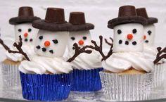 50 Creative Christmas Cup Cake Ideas