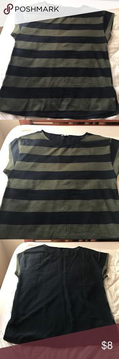 Forever 21 Striped Top Has only been worn a handful of times - still has a lot of life left. Forever 21 Tops Tees - Short Sleeve